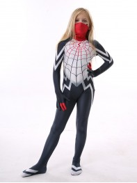Kids Silk Costume Cindy Moon Spiderman Costume Kid Halloween Costume