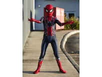 Kids Iron Spider Costume Kids Spiderman Homecoming Cosplay Suit for Holloween