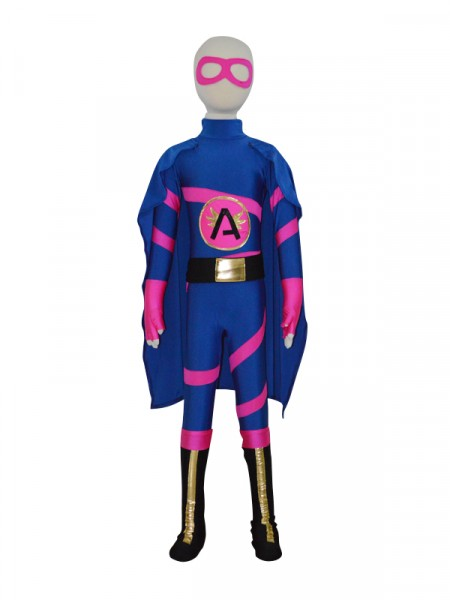 Super Angelina Custom Girls Superhero Costume