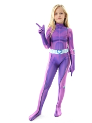 Totally Spies Mandy Suit Kids Cosplay Costume Kids Halloween Costume