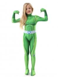 Totally Spies Sam Suit Kids Cosplay Costume Kids Halloween Costume