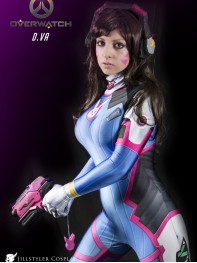 D.Va Costume Video Game Overwatch D.VA Cosplay Costume