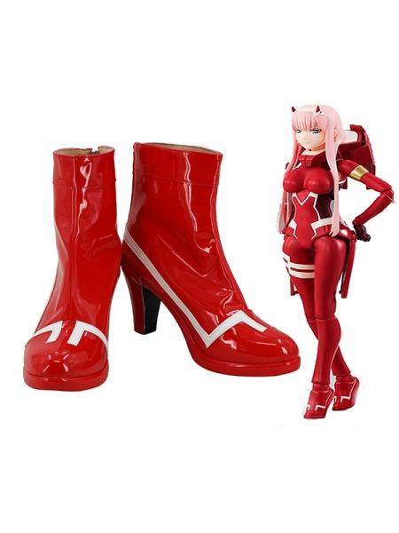 Zero Two Cosplay Shoes DARLING in the FRANXX Cosplay Boots