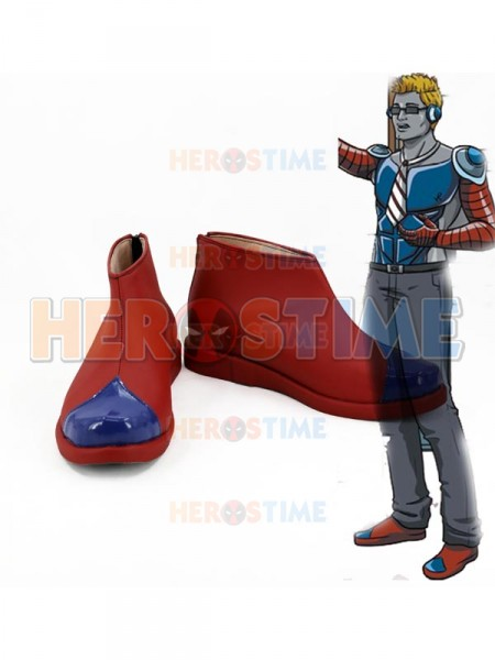 Custom Red Short Cosplay Boots