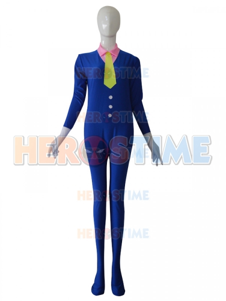 Custom Western Suit Style Fashion Tight Catsuit