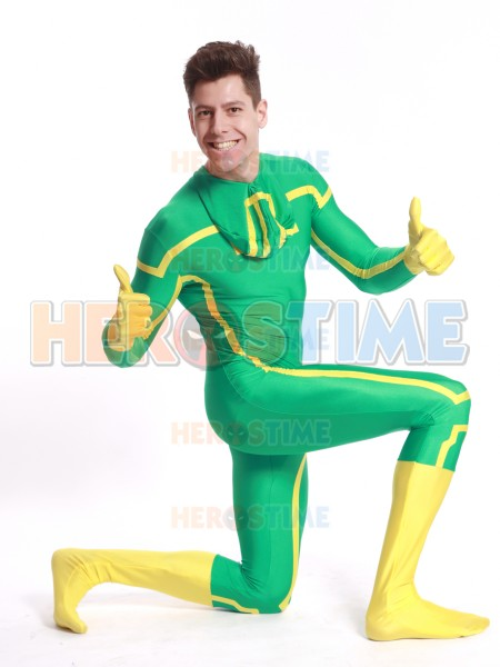 Kick-Ass Spandex Superhero Costume