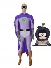 Mysterion Custom Purple Superhero Costume