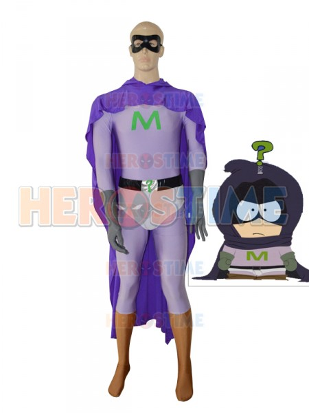 Mysterion Custom Purple Superhero Costume