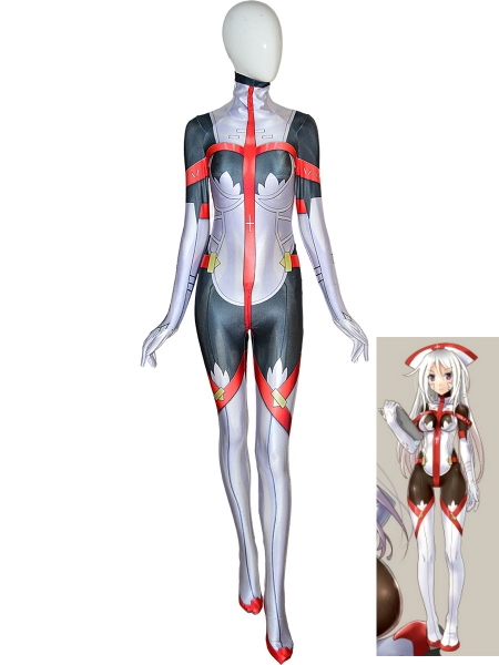 Custom Female Printing Cosplay Hallowen Costume