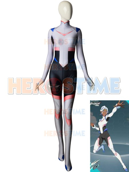 Princess Allura Costume Voltron: Legendary Defender Costume No Breast Shading