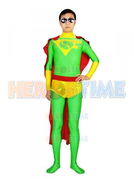 Super-Fer Captain Bolivia Spandex Superhero Costume
