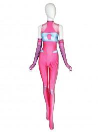 Aelita Schaeffer Suit Code Lyoko Maya Cosplay Printing Costume