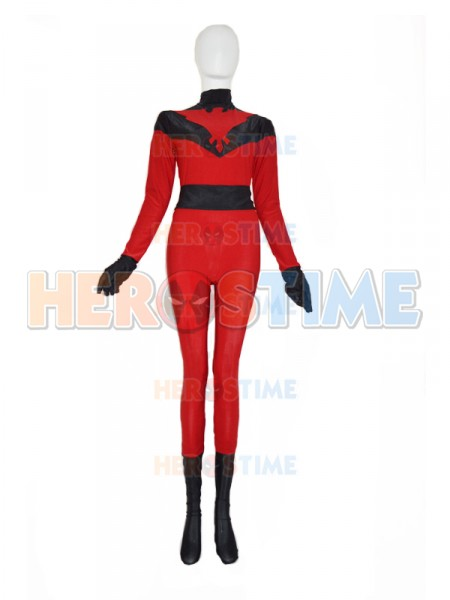 Crimson Hawk Red Custom Superhero Costume