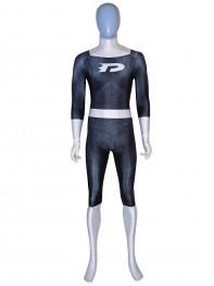Danny Phantom Female Muscle Dyesub Cosplay Costume