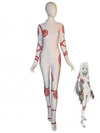 Shiro Suit Deadman Wonderland Cosplay Costume