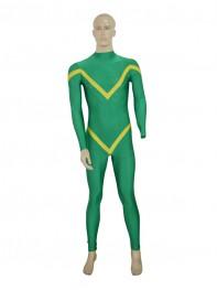 Deep Green & Yellow Custom Superhero Costume