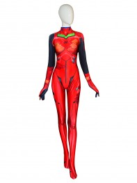 Asuka 3.0 Cosplay Costume Asuka Shikinami Langley Evangelion Spandex Suit