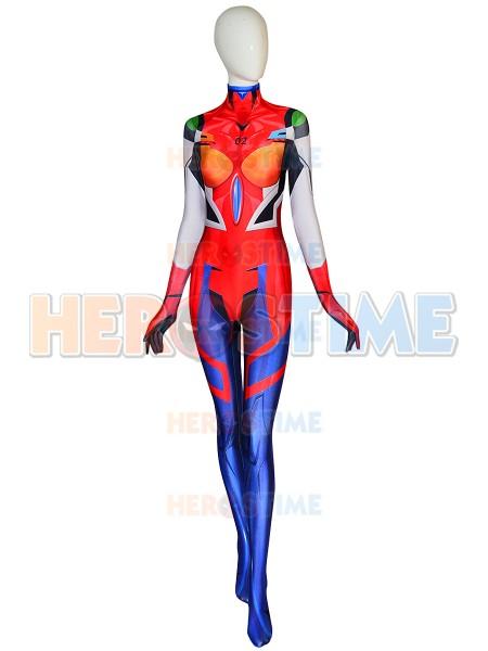 Asuka Suit Neon Genesis Evangelion Printing Cosplay Costume