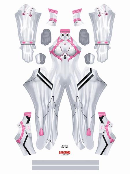 Mari Costume Evangelion 4.0 Version