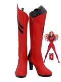 Neon Genesis Evangelion Asuka Cosplay Boots