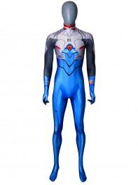 Shinji Ikari Plugsuit Evangelion Dyesub Printing Cosplay Costume