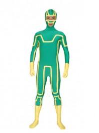 Kick-Ass Spandex Superhero Costume