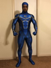 Superhero Cosplay Suit Eric Cooper Knight Seeker Costume Halloween Costume