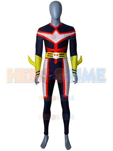 Traje de All Might de My Hero Academia Cosplay