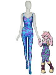 Ashido Mina Suit My Hero Academia Pinky Cosplay Costume