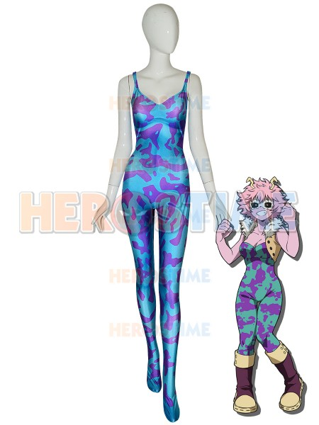 Ashido Mina Suit My Hero Academia Pinky Cosplay Costume