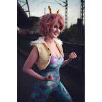 Ashido Mina Suit My Hero Academia Pinky Cosplay Disfraz