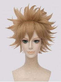Bakugou Katsuki My Hero Academia Gold Short Cosplay Wig