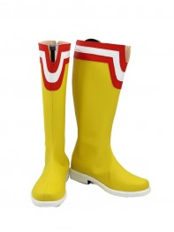 Boku no Hero Academia All Might Yellow Mens Cosplay Boots
