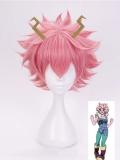 Peluca y horquilla para cosplay de My Hero Academia Ashido Mina