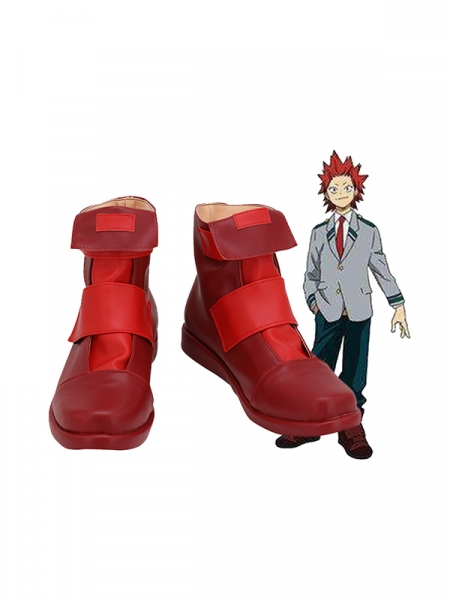 My Hero Academia Eijiro Kirishima Cosplay Shoes