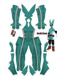 Deku Cosplay Costume My Hero Academia Izuku Midoriya Spandex Suit