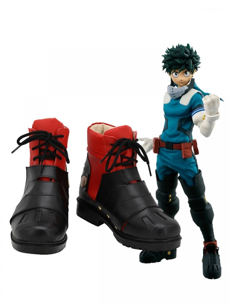 My Hero Academia Deku Cosplay Shoes