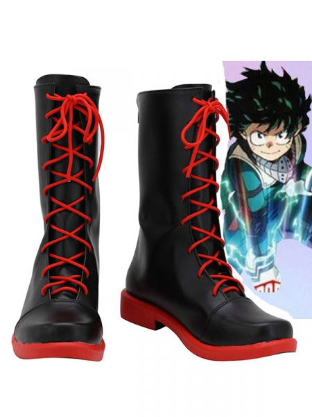 My Hero Academia Deku Cosplay Boots