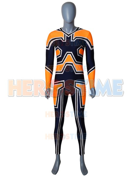 Endeavor Uniform Suit My Hero Academia Enji Todoroki Spandex Cosplay Costume