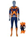 Endeavor Suit My Hero Academia Printing Cosplay Costume