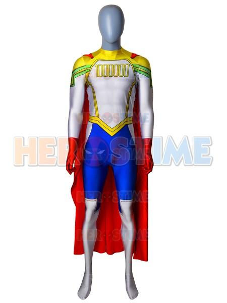 Traje de Lemillion Mirio Togata de My Hero Academia Disfraz de Cosplay Con Capa
