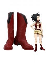 My Hero Academia Momo Yaoyorozu Cosplay Boots