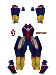 My Hero Academia All Might Cosplay Costume No Belt Version