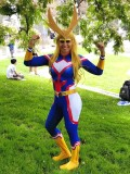 My Hero Academia All Might Female Shade Cosplay Costume