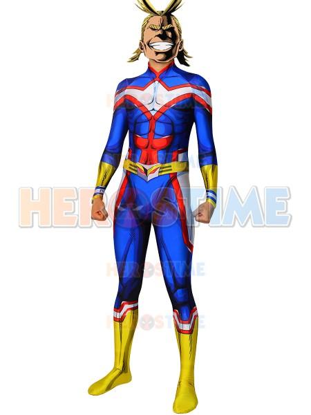 My Hero Academia Traje de All Might para Hombres Traje de Cosplay