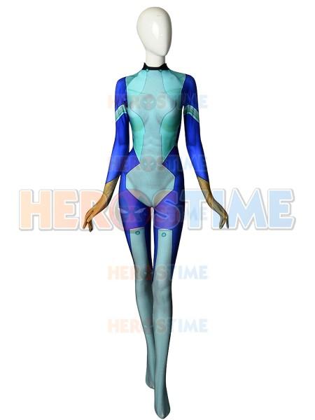 Traje de Nejire Hado My Hero Academia DyeSub Disfraz de Cosplay sin máscara