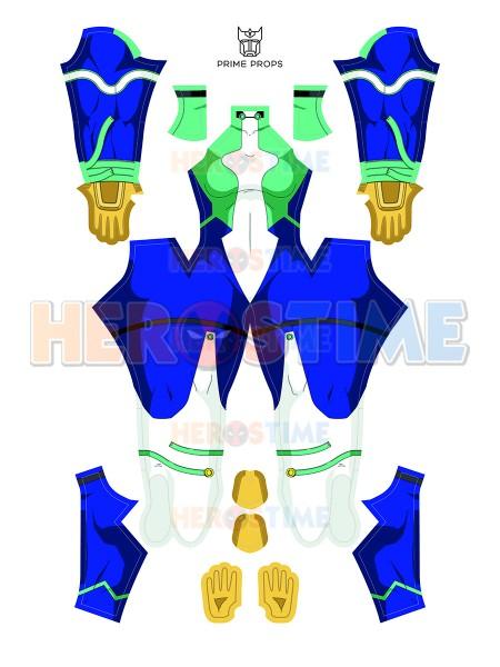 My Hero Academia Traje imprimido de Nejire Hadou