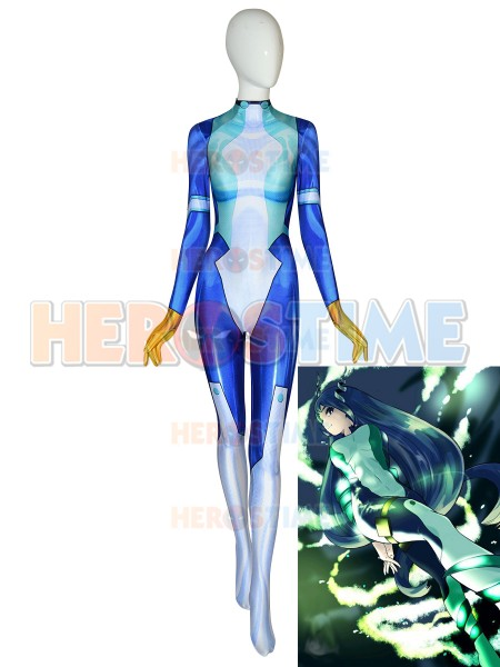Nejire Hadou Suit My Hero Academia Kids Adult Cosplay Halloween Costume