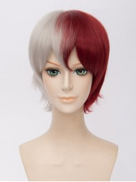 Todoroki Shoto My Hero Academia Short Cosplay Wig