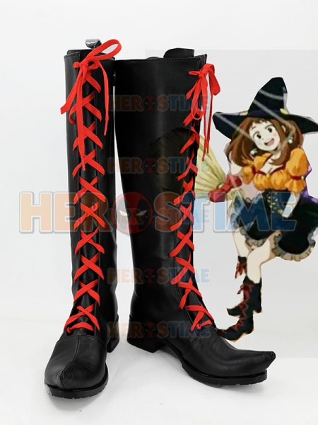 My Hero Academia Ochaco Uraraka Cosplay Boots